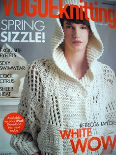 Vogue Knitting Magazine Fall 2007 Anniversary Issue for sale online Knitting Patterns Free, Knit Patterns, Free Knitting, Crochet Pattern, Knitting Ideas, Vogue Knitting, Knitting Books, Knitting Magazine, Crochet Magazine