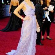 Oscars 2011 Red Carpet Mila Kunis Wears Eli Saab