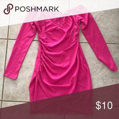 Tobi Mini Dress NEVER WORN Tobi hot pink dress - size M Tobi Dresses Mini