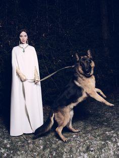 Queen of fairy fashion tales – Ulyana Sergeenko for Garage Magazine