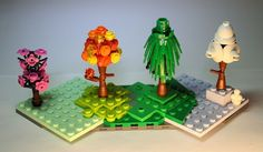 Lego Mocs Micro ~ LEGO Trees of the Seasons: