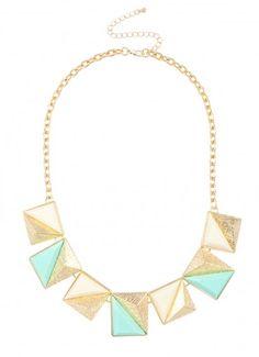 Argo Pyramid Strand Mint/Ivory at Prima donna #ShopPD #SummerEssentials