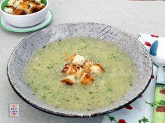 Minestra con le patate grattugiate