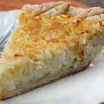 Coconut Custard Pie - Bunny's Warm Oven