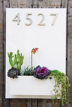 20 Ideas Of Catchy Contemporary House Numbers