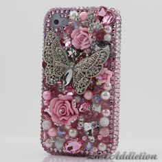 "Style 403 This Bling case can be handcrafted for iPhone 4/4S, 5, 5S, all Samsung Galaxy models (S3, S4, Note 2). The current price is $79.95 (Enter discount code: ""facebook102"" for an additional 10% off during checkout)"