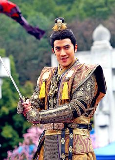 Aarif Rahman in 'The Empress of China' (2014).