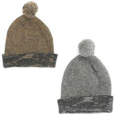 Simply Vera Wang Pom Beanie Winter Hat for Women - Watch Cap - One Size #VeraWang #Beanie