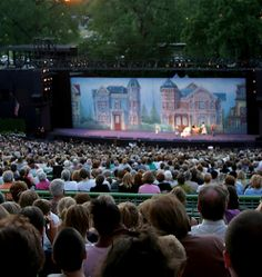 The Muny had its first show in 1917. the oldest and largest outdoor musical theater in the country that showcases broadway musicals..1500 seats at the top are free seats so everyone can enjoy... so much fun in the summer! My absolute favorite thing to do in the summer & I have so many fun memories! I can't not imagine going to all the shows every summer!