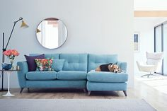 For beautiful Sofas and Chairs made in the UK visit The Lounge Co. Creating your perfect Sofa has never been so easy Blue Lounge, Style Lounge, Sofa Design, Canapé Design, Living Room Trends, Living Room Sofa, Living Room Decor, Sofa Inspiration, Living Room Inspiration