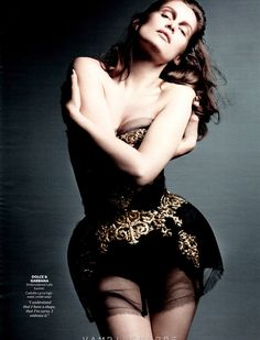 Laetitia Casta   Liz Collins   Instyle US August 2012   Fall's SultrySide - 3 Sensual Fashion Editorials   Art Exhibits - Anne of Carversville Women's News