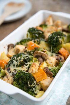 rs - Musaka od povrća i pirinča: Posno, a gurmanski! Kitchen Recipes, Cooking Recipes, Healthy Recipes, Sweet Potato Recipes, Chicken Recipes, Healthy Diners, Musaka, Oven Dishes, Food Crush