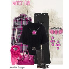 """Winter Fun"" by amabiledesigns on Polyvore"