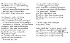Lyrics Better Place Rachel Platten
