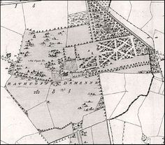 Old map of Rathcoffey Demense Sports Complex, Castle Ruins, Abandoned, Ireland, Map, Left Out, Location Map, Irish, Maps
