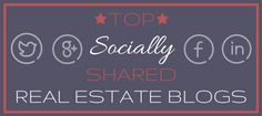 Top Social Post and Real Estate Blogs.