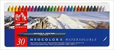 NEOCOLOR II, Metalen doos, 30 kleuren: Amazon.de: Bücher