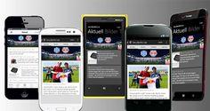 Die kostenlose SALZBURG12.at App mit News, Liveticker, Instagram, Twitter und vielem mehr für euer Smartphone! Holt sie euch in eurem App-Store!