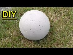 Staining concrete garden spheres can be done easily with acid stain. Learn how to color concrete garden spheres for your landscaping in this free video. Diy Garden Decor, Garden Crafts, Garden Projects, Backyard Decorations, Garden Ideas, Garden Spheres, Garden Balls, Concrete Crafts, Concrete Projects