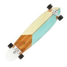 GLISSE URBAINE Trottinette, skate, roller... - LONGBOARD BAMBOO BAUHAUS OXELO - Skateboards et Longboard