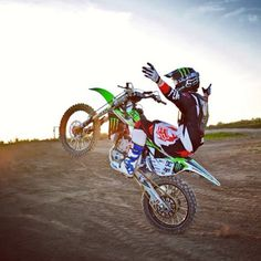 Dirt bike are the bomb you can do the most awesome tricks and moves on these Bad boys!