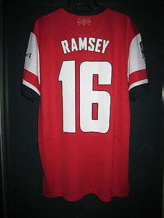 ba9402295 Puma Arsenal Home 2015-16 ACTV Authentic 2013-14 arsenal 2014 fa cup final  home short-sleeve replica shirt ...