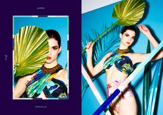 °★ ☽ FORGET ME NOT ☾ ★ °  tropicalia collection - print - design