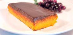 Tarta de calabaza con chocolate Receta de cocina facil sana y original La encimera azul
