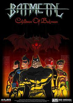 Batmetal FREE poster by JackBlin.deviantart.com on @DeviantArt