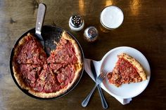 312 Pizza Company is a classic Chicago-style pizzeria.