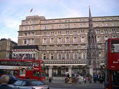Charing Cross hotel, London. Stayed here my first trip to this wonderful city, January 2006. Great location!