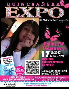Please Go to http://www.facebook.com/DfwQuinceanerasMagazine like Alexis' Picture The girl with more likes will be recognized during the show. FB Contest Rules : 1. Must like Texas quinceaneras magazine fun page. 2. Like you favorite picture contestant with more likes will be recognized during Expo