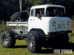 Utility box Jeep Pickup
