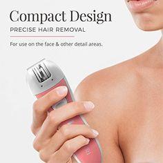 Remington Smooth & Silky Facial Epilator, EP1050CDN | Face Care & Tools Epilator For Face, Facial Hair, Face Care, Hair Removal, Smooth, How To Remove, Tools, Instruments, Facials