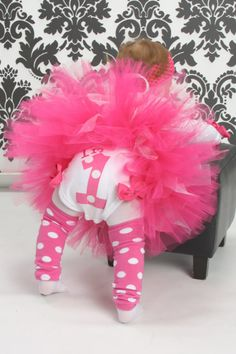 Cupcake Couture Pink Glam 1st Birthday Tutu by monkeybusiness10, $50.00