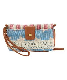 Another great find on #zulily! Americana Lace-Trim Wristlet #zulilyfinds