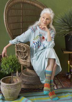 Knusse avonden – eindelijk–Gudrun Sjödén – Zweeds design met een groen hart / online