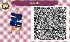 Easily one of the best parts about the new Animal Crossing game is the ability to share your custom designs as QR codes. And it even saves them as c. Animal Crossing Pattern - Gettin' Jiggy With It Acnl Qr Code Sol, Acnl Pfade, Acnl Art, Qr Code Animal Crossing, Acnl Paths, Dream Code, Motif Acnl, Ac New Leaf, Brick Path