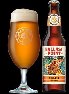 BALLAST POINT, Sculpin. IPA .