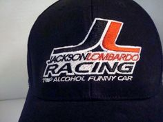 Jackson Lombardo Racing Top Alcohol Funny Car Cap Hat  Lucas Oil Products Patch #MyHatGuy