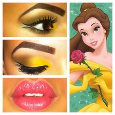 Belle Disney Beauty and the Beast makeup MAC cosmetics