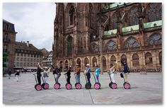 """See the old and new landmarks of Strasbourg from a different perspective on a Segway tour of the city and its districts, including the institutions of the Quartier Européen. Explore """"La Petite France,"""" the German district and much more. Strasbourg, Best Mobile, Trip Advisor, Tourism, Old Things, France, Vacation, City, Ride Or Die"""