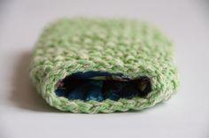 Crochet pattern sunglass case. $5.00, via Etsy.