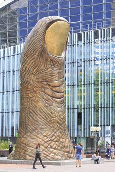 France, Haut-de-Seine, La Défense, sculpture by César ©Ludovic MAISANT