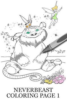 Legend of the NeverBeast Activity - Gruff Coloring Page 2