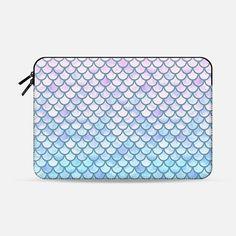 Lavender Mermaid Scales - Macbook Sleeve