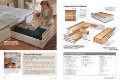 Byg din egen seng med opbevaring | Gør Det Selv