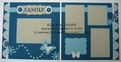 Butterfly Scrapbook Pages