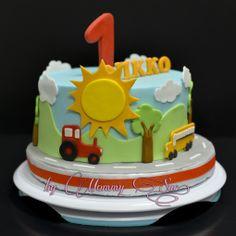 Sunny Day Cake