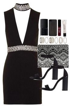 """Outfit for prom"" by ferned ❤ liked on Polyvore featuring Topshop, Zara, Forever 21, NARS Cosmetics and Marc by Marc Jacobs"
